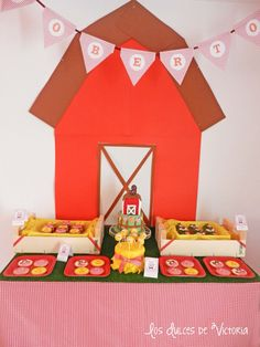"""Old McDonald"" Farm 3rd Birthday Party - Kara's Party Ideas - The Place for All Things Party"