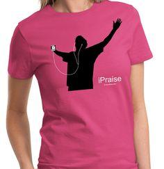 'iPraise - Women's Christian Tee - SonGear.com'