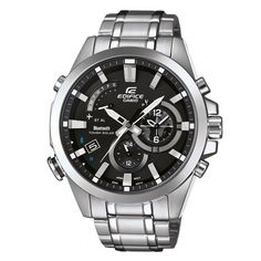 1554efe6279 Casio Men s EQB510D-1ACR  Edifice Bluetooth Smart  Analog-Digital Watch  Watches For