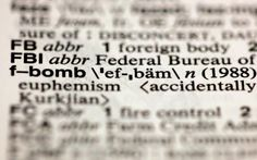 F-Bomb is now a term in the Merriam-Webster's Collegiate Dictionary: That's Just Wild!