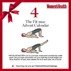 Firm buttocks, lean thighs - what we all want, right? And today's #WHUKFitmasChallenge move will deliver... Now, drop and give us eight on each side!