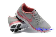 Billig Schuhe Damen Nike Free 5.0 V4 (Farbe:Vamp-grau;Sohle-weiB,innenundLogo-pink) Online Laden.