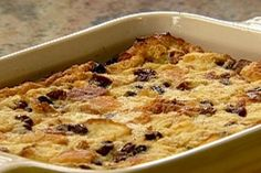 Get Rum Raisin Bread Pudding Recipe from Food Network