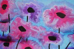 Liituprinsessa ja villakoira: Sokerimaalaus Diy And Crafts, Arts And Crafts, Kindergarten, Altered Books, Teaching Art, Art School, Diy For Kids, Creative Art, Watercolor Paintings