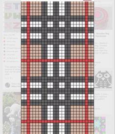 Tapestry Crochet Patterns, Bead Loom Patterns, Weaving Patterns, Mosaic Patterns, Cross Stitch Patterns, Crochet Chart, Crochet Motif, Crochet Stitches, Knitting Charts