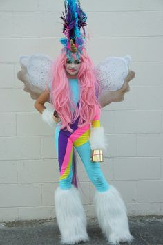 Vandy, Khia and friends dress as fancy unicorns for Halloween this year. Check out their amazing costumes.