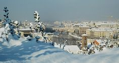 Winter in Florence, Italy.