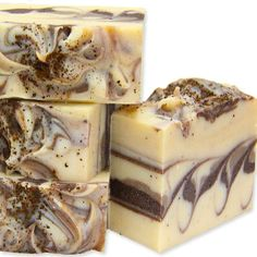 This lady makes beautiful soap swirls, her color combinations are amazing.