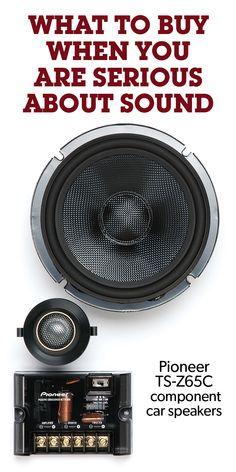 Pioneer Z-Series component speaker system at Crutchfield Car Audio Battery, Diy Boombox, Custom Car Audio, Component Speakers, Car Audio Systems, Car Sounds, Car Tools, High End Audio, Audio Speakers