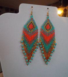Native American Style Beaded Bright Spring by BeadedCreationsetc