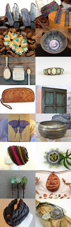 Beauty in color! by Christina on Etsy--Pinned with TreasuryPin.com  #vintage #shopping #jewelry #bracelet #art #SumertaDesigns #Etsyfinds #boho #Bohemian