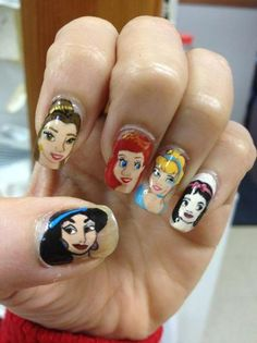 Disney Princesses Nails!