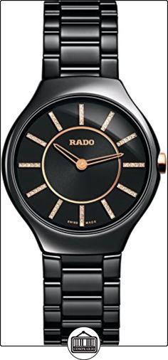 Rado R27742702 420.0742.3.070 - Reloj para mujeres, correa de cerámica color negro ✿ Relojes para mujer - (Lujo) ✿