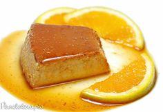 PANELATERAPIA - Blog de Culinária, Gastronomia e Receitas: Pudim Light de Laranja