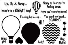 hot4balloons, patterns4airballoons - hot4balloons - The Stamps of Life Gallery