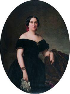 Amèlia de Vilanova i Nadal, by Federico de Madrazo