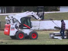 Bobcat at Work, better use AMSOIL Diesel Oil  - Come check out the AMSOIL diesel products at http://shop.syntheticoilandfilter.com/motor-oil/diesel/