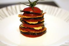 French Recipe: Millefeuille Tomate Aubergine Parmesan