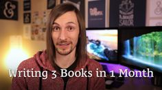 I'm Writing 3 Books in a Month http://seanwes.tv/140