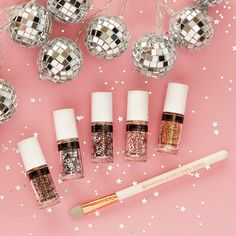 get your glitter on with the glitter & pigment applicator! #missionglitter #getyourglitteron #glittergang #essence
