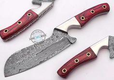 "8.75"" Custom made Awesome Damascus steel Chef Kitchen Knife (AA-0225-20) #UltimateWarrior"