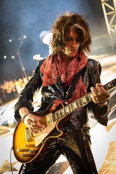 Joe Perry of Aerosmith Joe Perry, Elvis Presley, Steven Tyler Aerosmith, Jane's Addiction, Famous Musicians, Les Paul, Jimi Hendrix, Led Zeppelin, Rock Music