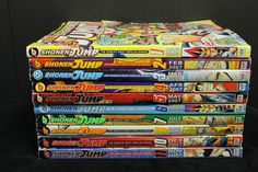 Shonen Jump Magazine Lot of 10 Comic Book Manga Anime English Vol 5 - 10 Issues in Collectibles, Comics, Manga | eBay