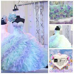 2014 La Glitter quinceanera dresses!