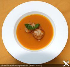 Kürbissuppe mit Ingwer und Kokos, ein raffiniertes Rezept aus der Kategorie Kochen. Bewertungen: 69. Durchschnitt: Ø 4,6.