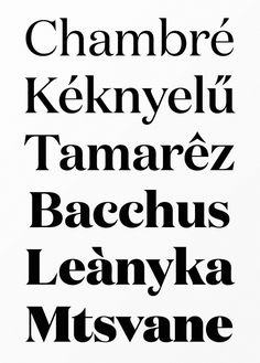 I love type! I love typeface designers. I love how people who design type love type and I love that you can express so much just through type!