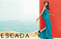 photo by Claudia Knoepfel & Stefan Indlekofer: Escada Spring/Summer 2013 campaign