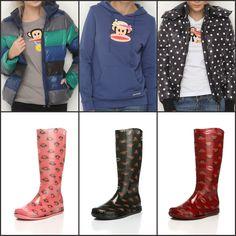 Babetlerin yerini yağmur çizmeleri, tişörtlerin yerini montlar aldıysa #KışGelmişDemektir. Siz de bizim gibi düşünüyorsanız, birbirinden eğlenceli mont ve çizmeler için Paul Frank kampanyamıza göz atın ;) #paulfrank #yagmur #bot #cizme #moda #rain #rainyday #cold #winter #cute #style #fashion #stylish #booties #shoes