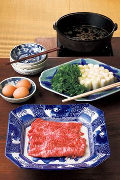 Sukiyaki.(before-cooking)**.
