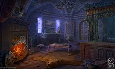 bedroom castle fantasy deviantart scene rooms game anime aleksandr osm ravenhearst rpg story