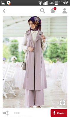 Turkish Fashion, Islamic Fashion, Muslim Fashion, Modest Fashion, Hijab Fashion, Fashion Outfits, Modele Hijab, Hijabi Girl, Islamic Clothing