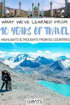 Considering a life change? Long term travel has given us so much wanderlust and enabled to visit and live in unique destinations around the world. For highlights and tips for life one the road, check out our adventure from the last 10 years, visiting 65 countries. | #wanderlust #longtermtravel #remotework