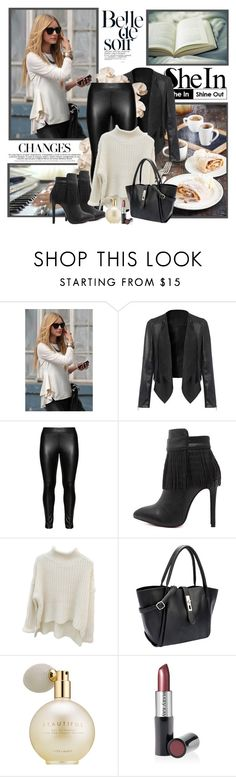 """shein"" by sneky ❤ liked on Polyvore featuring Studio, Estée Lauder and Mary Kay"