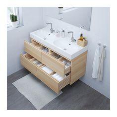 GODMORGON TOLKEN T–RNVIKEN Meuble lavabo av lavabo  poser 45