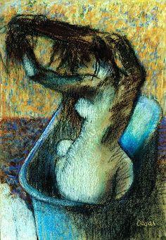 """Degas: """"Woman Bathing"""""""
