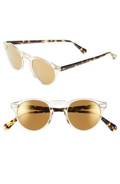 99ae50a2a0278a Oliver Peoples  Gregory Peck  47mm Retro Sunglasses Lunettes Cool, Gregory  Peck, Lunettes