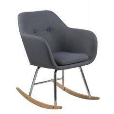 Der Göteborg Schaukelstuhl vereint modernes Design und Komfort und bringt Gemütlichkeit in ihr Zuhause.Die Kufen aus Holz bilden eine schönen Kontrast zu dem Metallgestell. Wer gerne ein gutes Buch in einem Schaukelstuhl schmökert und auf modernes Design nicht verzichten möchte, für den ist Göteborg genau das Richtige.>