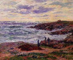 The Coast At Doelan - Henri Moret