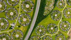 30 Breathtaking Satellite Photos That Will Change How You See Our World Brøndby Haveby, Brønby Municipality, Denmark Satellite Photos Of Earth, Photo Satellite, Vue Satellite, Earth Photos, Ville New York, Aerial Images, Earth From Space, Apple Maps, Birds Eye View