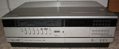 My first video recorder, I used to watch Star Wars, Michael Jackson's Thriller and Everton Liverpool on this virtually every day! Cool Digital Clocks, Star Wars Watch, Michael Jackson Thriller, Cassette Recorder, Everton, Liverpool, Childhood Memories, 1980s, Nostalgia
