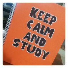 DIY: caderno 'Keep Calm'