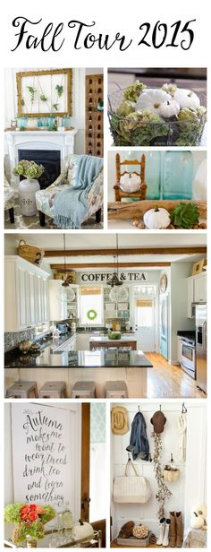 Home Stories A to Z fall home tour