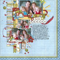 Vacation Family Photos - Scrapbook.com