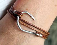 U Got Hooked Fish Hook Bracelets