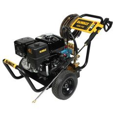 Deck Cleaning, Cleaning Wood, Dewalt Tools, Construction Tools, Belt Drive, Pressure Washing, Gasoline Engine, Vinyl Siding, Outdoor Power Equipment