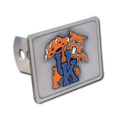 Kentucky Wildcats NCAA Logo Hitch Cover